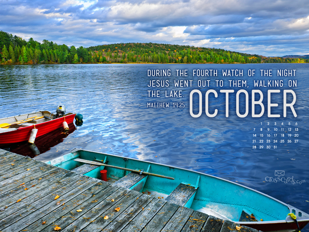 Oct 2012 - Matt 14:25 - Wallpaper