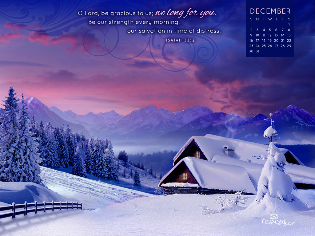 Dec 2012 - Cabin - Wallpaper