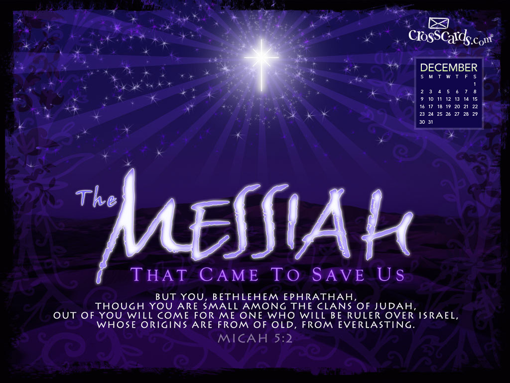 Dec 2012 - Messiah - Wallpaper