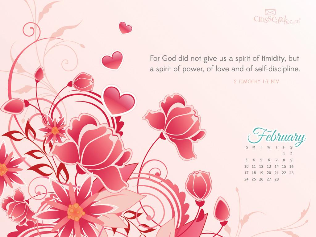 Feb 2013 - 2 Tim 1:7 NIV