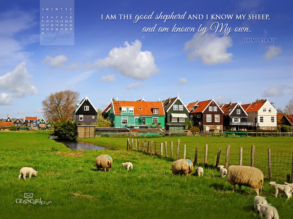June 2013 - John 10:14 NIV