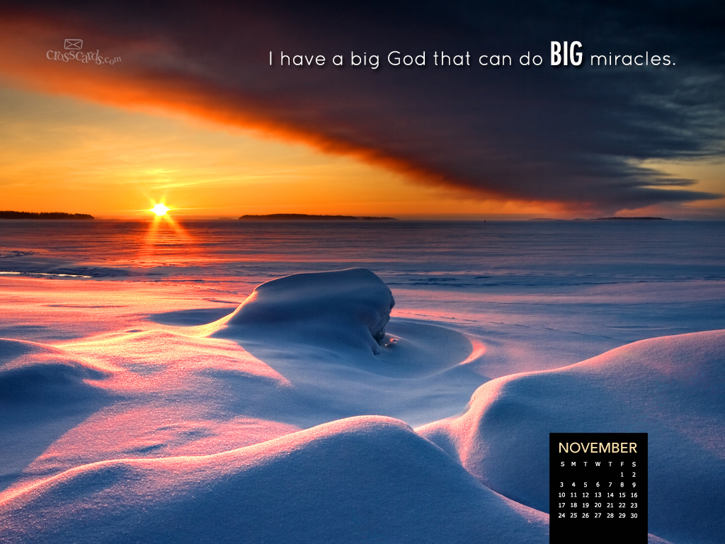 Free Desktop Calendar Wallpaper November : Crosscards free christian ecards online greeting