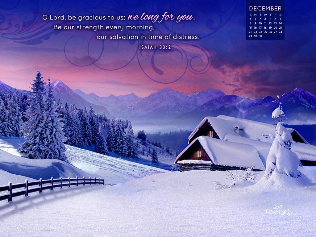 December 2013 - Isaiah 33:2