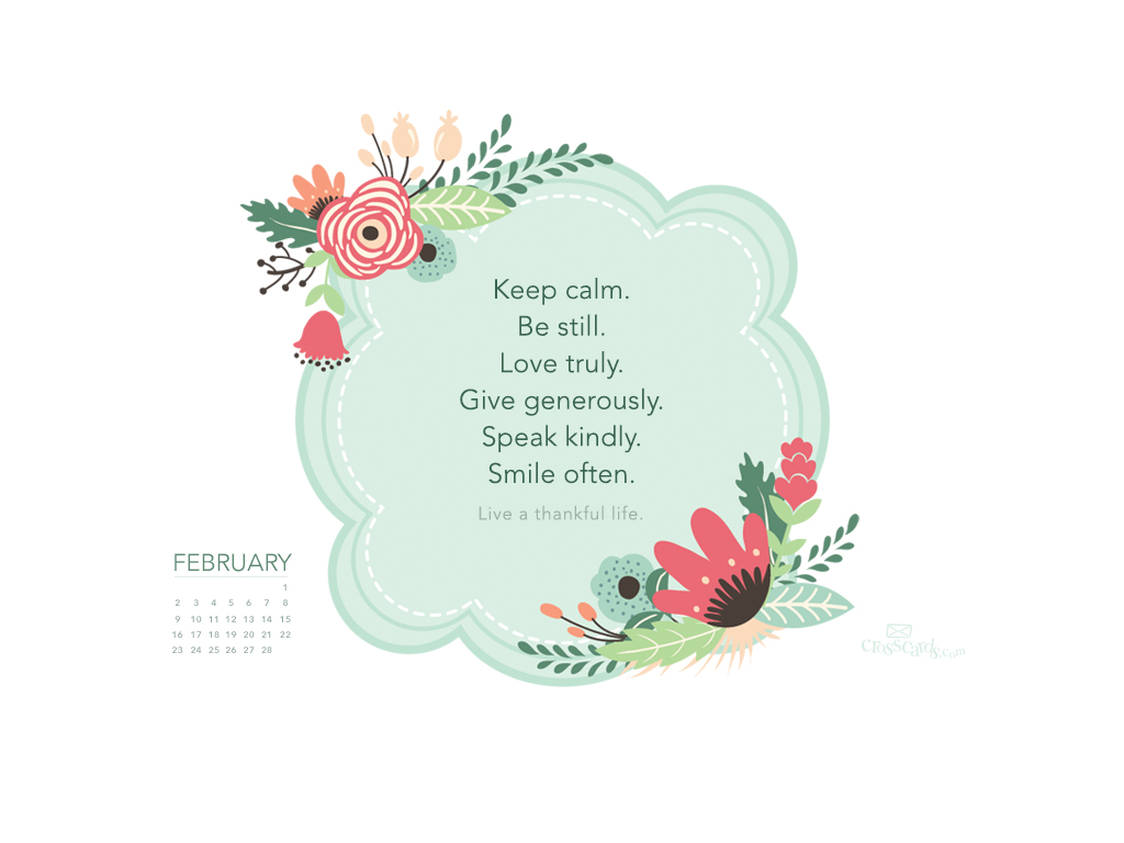 February 2014 - Thankful Life