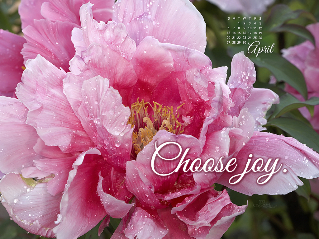 April 2014 - Choose Joy
