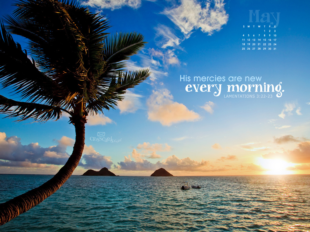 2014 - Mercies New Desktop Calendar- Free Monthly Calendars Wallpaper ...