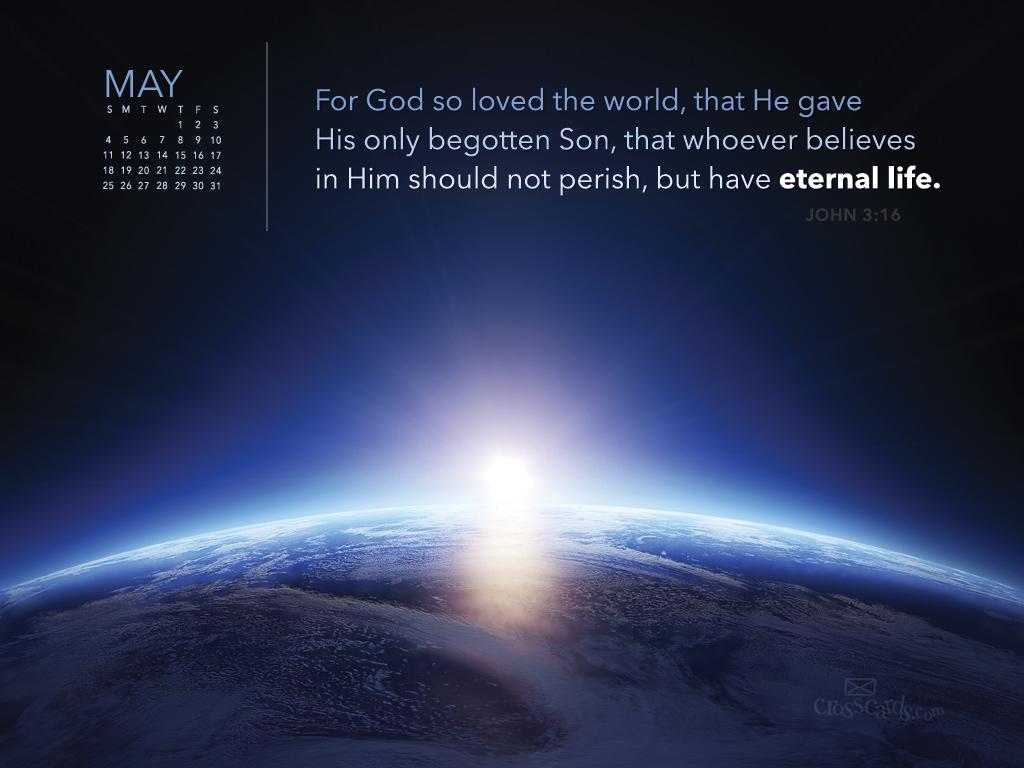 May 2014 - John 3:16
