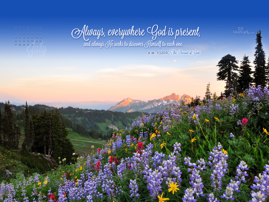 July 2014 AW Tozer Wallpaper. Crosscards Wallpaper Monthly Calendars ...