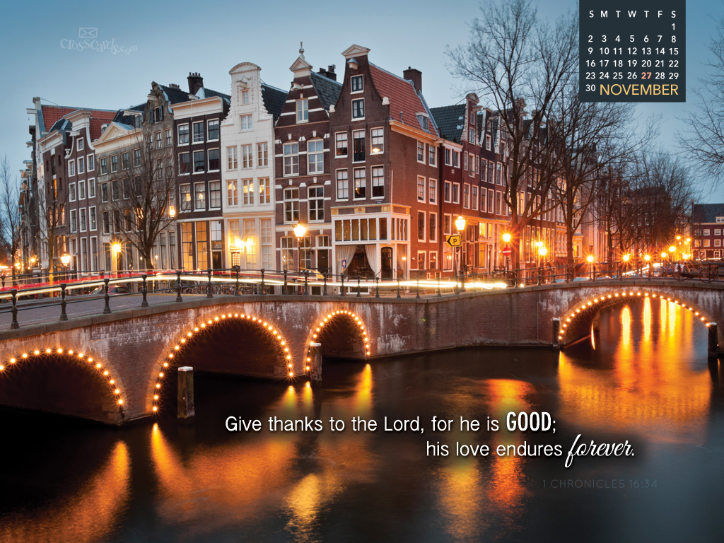 Free Desktop Calendar Wallpaper November : November love endures desktop calendar free