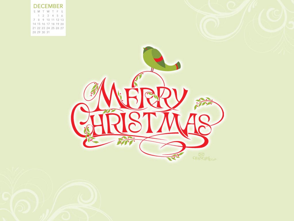 december 2014 merry christmas desktop calendar free