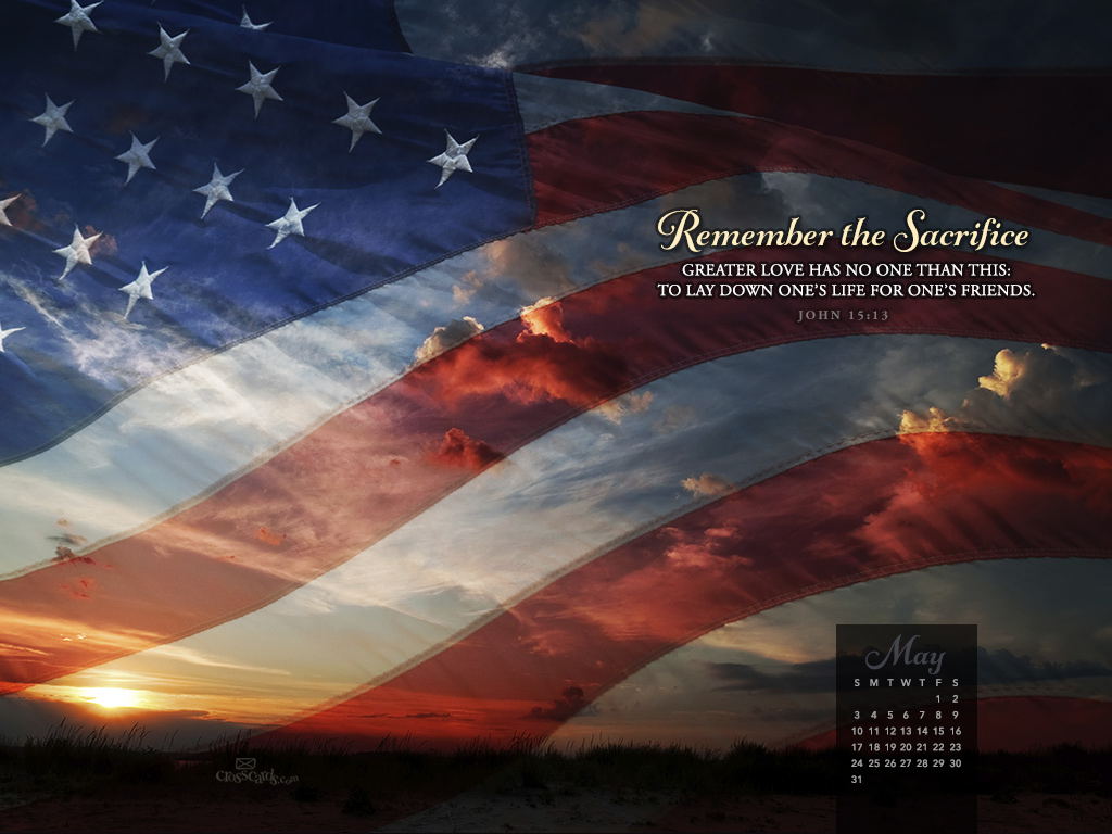May 2015 - Remember the Sacrifice - Wallpaper