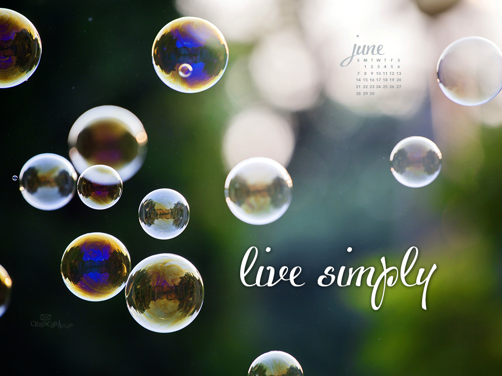 Calendar Live Wallpaper : June live simply desktop calendar free monthly