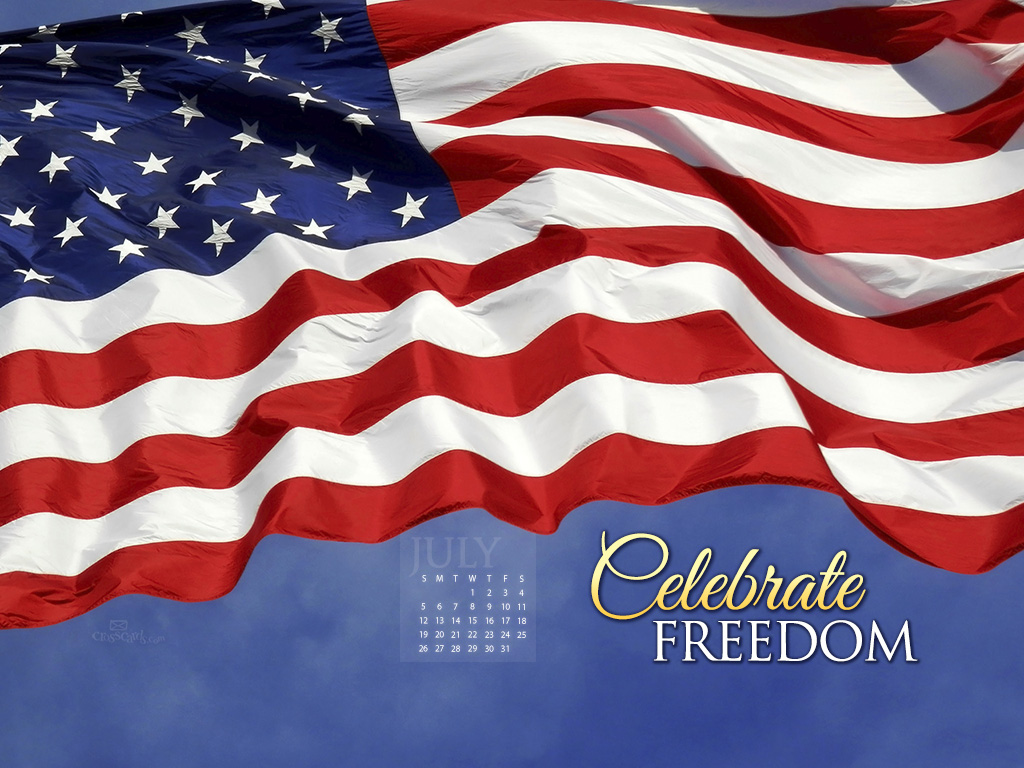 July 2015 - Celebrate Freedom - Wallpaper