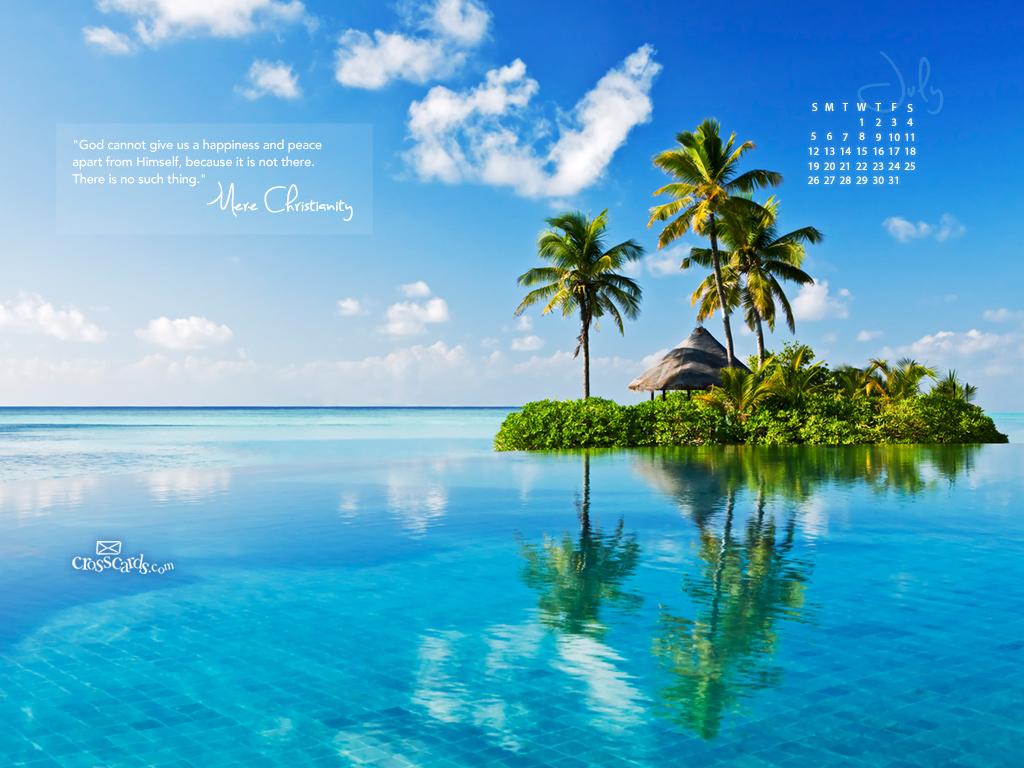 Calendar Wallpaper July 2015 : July mere christianity desktop calendar free