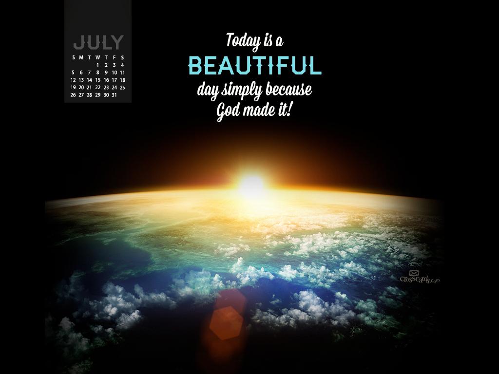 July 2015 - Beautiful Day - Wallpaper