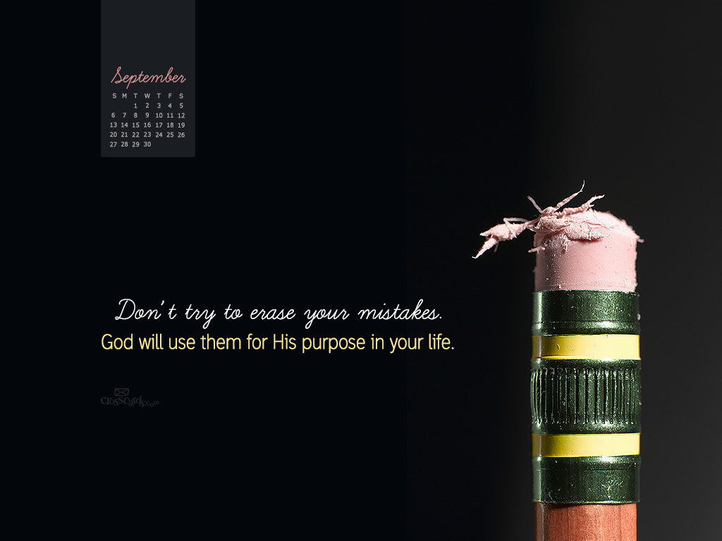 September 2015 - God's Purpose - Wallpaper