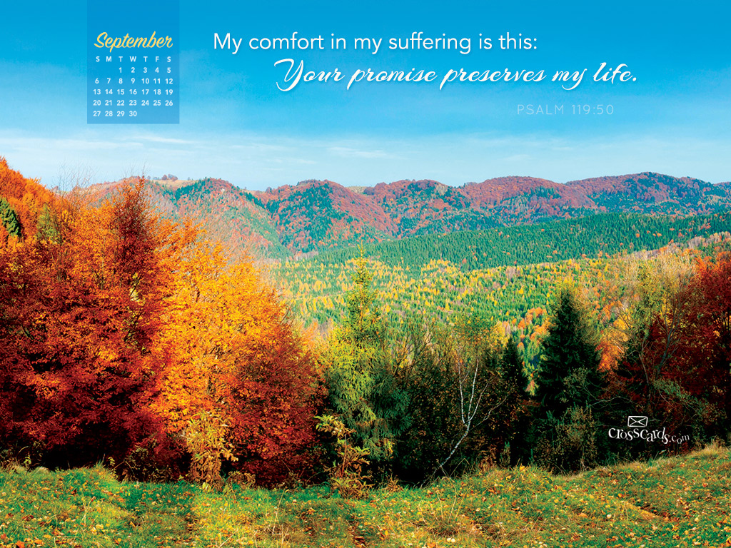 Free Desktop Calendar Wallpaper : September psalm desktop calendar free