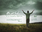 April 2012 - God's Favor