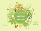 April 2013 - Hebrews 10:14 NIV - Wallpaper