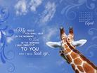 April 2013 - Psalm 5:3 NKJV