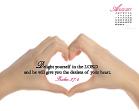 August 2011 - Psalm 37:4