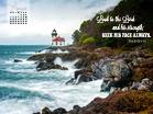 August 2013 - Psalm 105:4 NIV