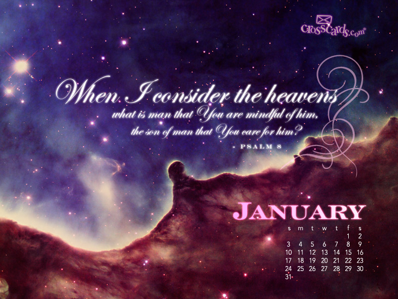 Heavens January 2010