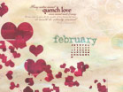 February 2010 - Hearts - Wallpaper