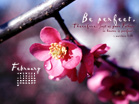February 2010 - Be Perfect - Wallpaper