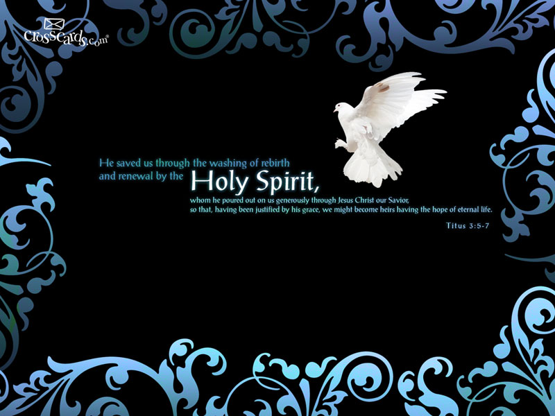 The Holy Spirit - Wallpaper