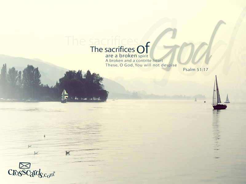 Sacrifices of God