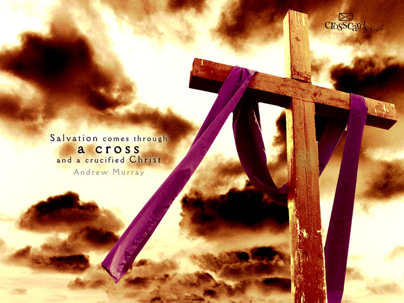 Cross and Christ - Wallpaper