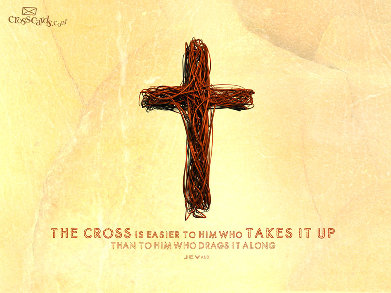 Take Up Cross - Wallpaper
