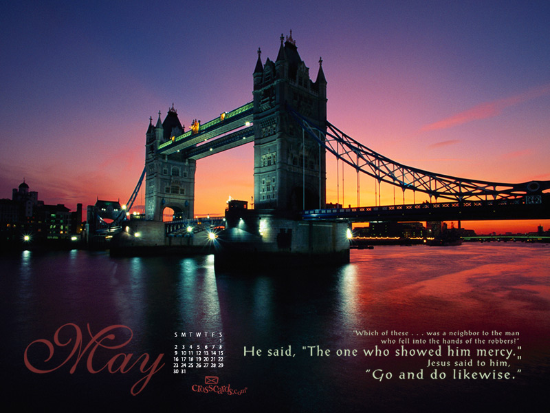 London Bridge at Night WallpaperLondon Bridge At Night Wallpaper