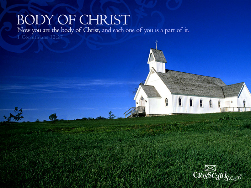 Body of Christ - Wallpaper