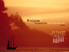 June 2010 - Hope - Wallpaper