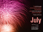 July 2010 - Fireworks - Wallpaper