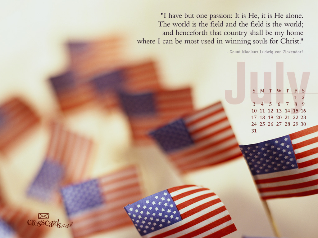 July 2011 - Flags - Wallpaper