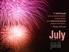 July 2011 -  Fireworks