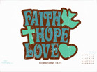 July 2011 - Faith, Hope & Love