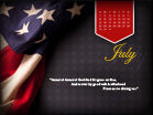 July 2012 - Flag - Wallpaper