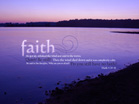 Faith - Mark 4:39-41 - Wallpaper