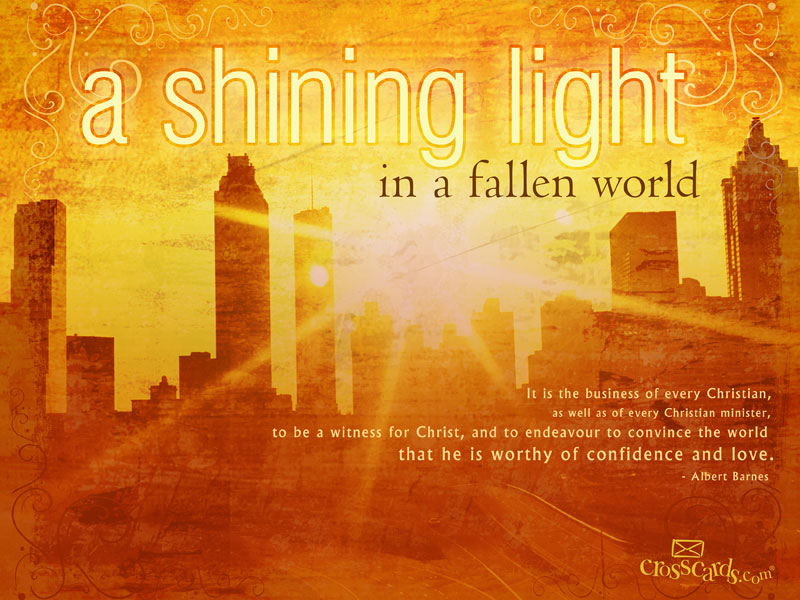 Shining Light - Wallpaper