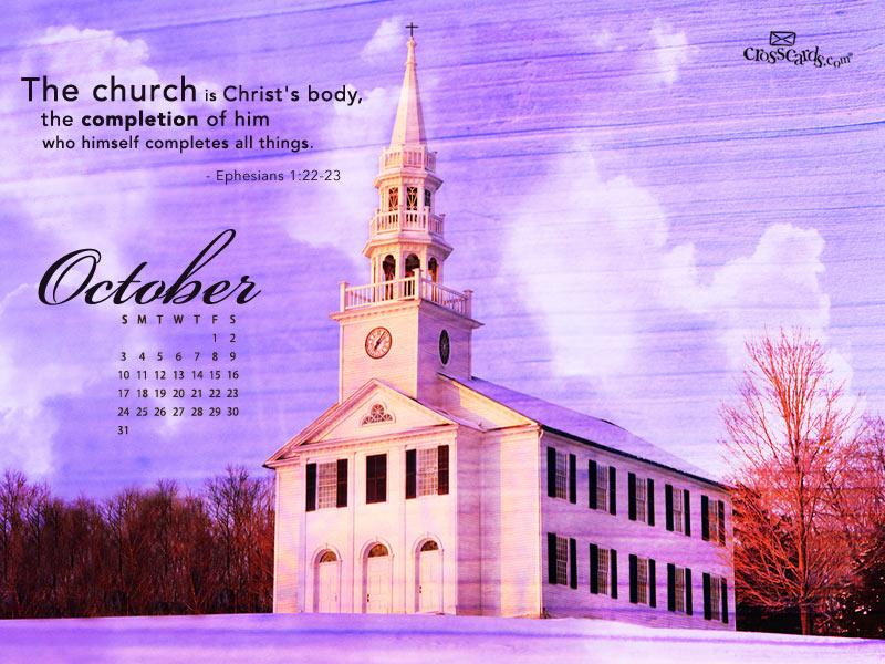 October 2010 - Christ's Body