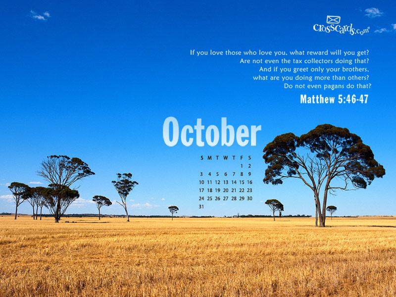 October 2010 - Matthew 5:46-47