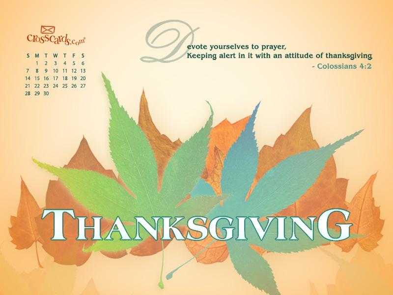 November 2010 - Thanksgiving
