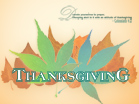 Thanksgiving  - Wallpaper
