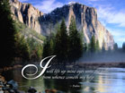 Psalm 121:1 - Wallpaper
