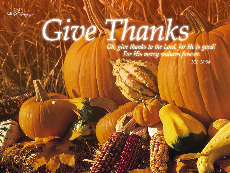 Give Thanks - Wallpaper