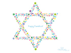Dec. 2011 - Happy Hanukkah - Wallpaper
